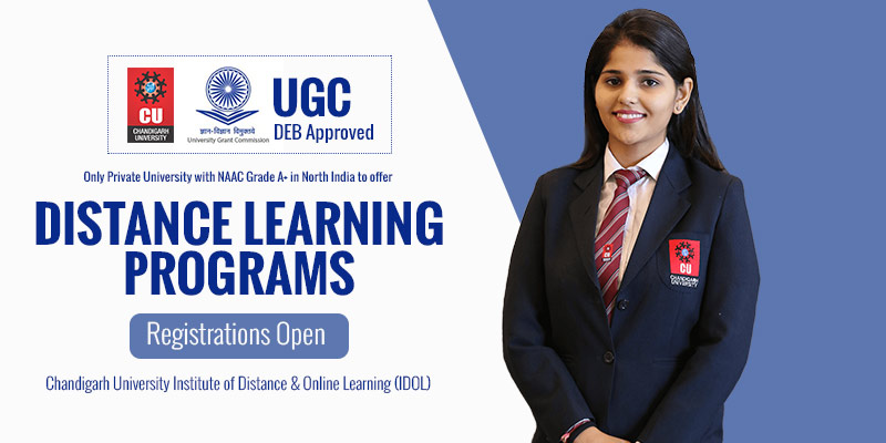 Chandigarh University Distance Education Programme